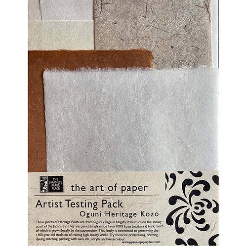Artist Testing Pack: Oguni Heritage Kozo