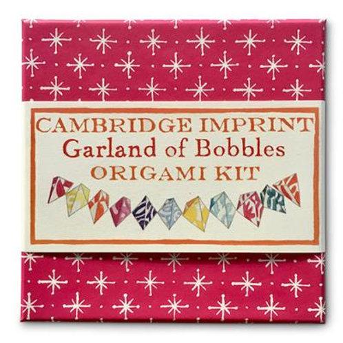 Cambridge Imprint Garland of Bobbles Origami Kit