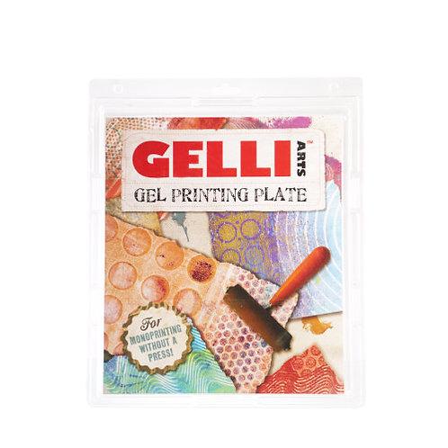 Gelli Monoprinting Plate
