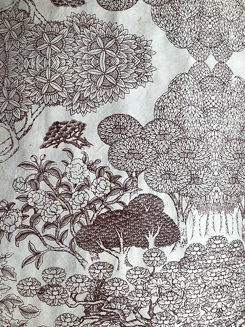 Lokta Engraved Garden
