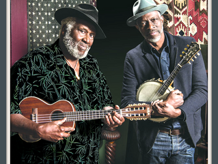 Blues greats Taj Mahal and Keb' Mo' team up to make some joyful noise