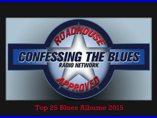 Confessing the Blues Radio Top 25 Blues Albums 2015