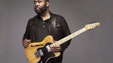 Blues guitarist plays straight from the heart