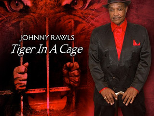 Blues Music Award-Winner Johnny Rawls Is Like A Tiger In A Cage