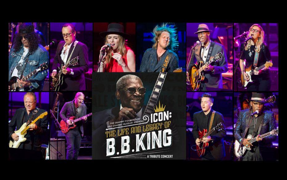 Joe Bonamassa, Keb' Mo', Kenny Wayne Shepherd, Slash, Susan Tedeschi, Derek Trucks, and more trade licks at Icon: The Life And Legacy Of B.B. King