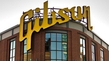 Gibson to Sell Memphis Factory