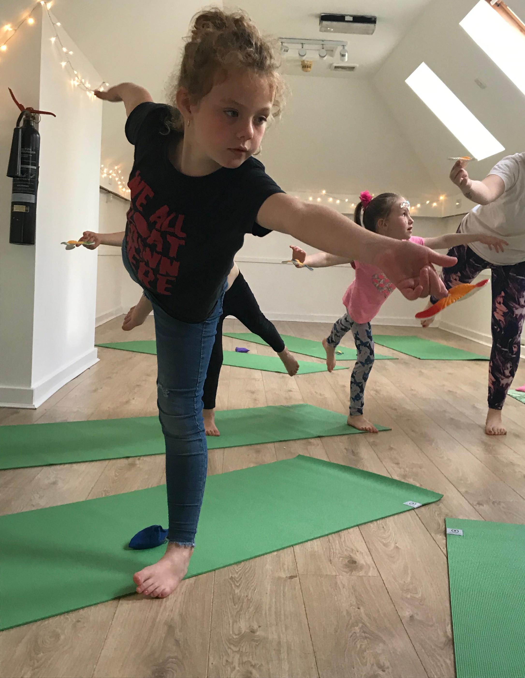 Big Bairns 8-11y Yoga Class (THURSDAY)