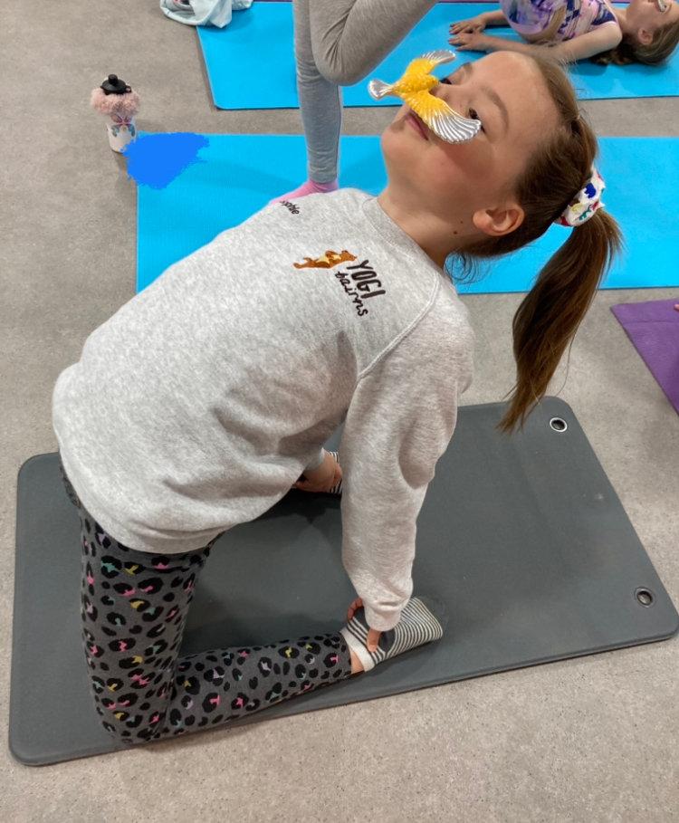 Wee Bairns 5-7y Yoga Class (TUESDAY)