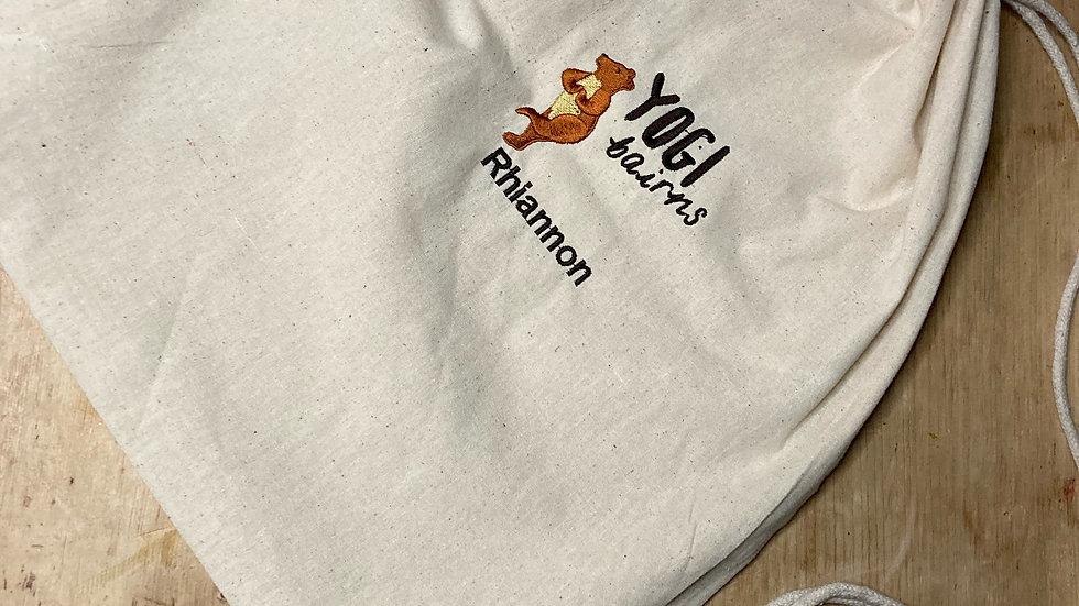 My Yogi Bairns Personalised KIDS Drawstring Bag