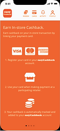 Cardlinking easycashback