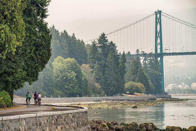 Biking along Stanley Park in Vancouver, Canada.jpg