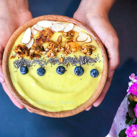 Tropical Bliss Smoothie Bowl