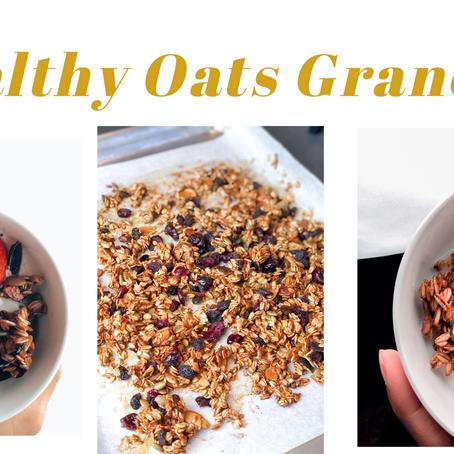 Simple & Healthy Granola recipe