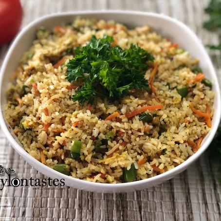 How to make Fried Rice | Best Restaurant style Sri Lankan Fried rice