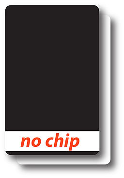 no chip reader card