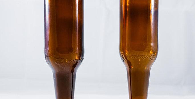Repurposed Beer bottle Glassware | Man cave gifts | Bar Glassware