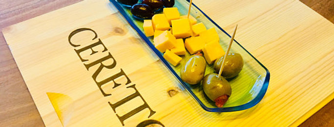 Bombay Sapphire Bottle Dish Plate | Antipasto & Cheese Blue Glass Platter Slate