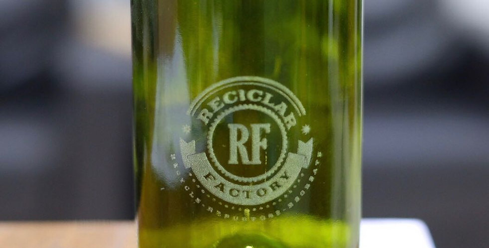 CUSTOM ENGRAVED OLIVE GREEN WINE TUMBLERS