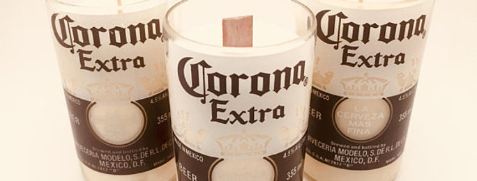 Corona Glass Soy Candle