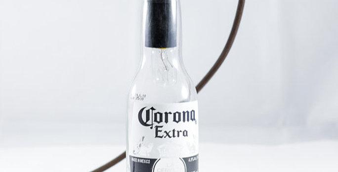 Corona Beer Bottle Man Cave Pendant Light Lamp Fixture | Industrial Bottle Light