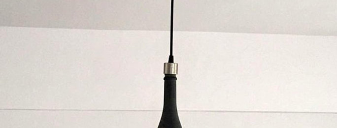 CHAMPAGNE BOTTLE PENDANT LAMP
