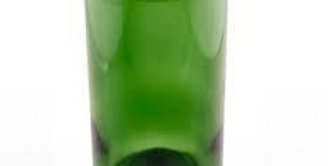 16 Ounce Glass Tumblers | 470 mls Green Tumbler Cups | Repurposed Glassware