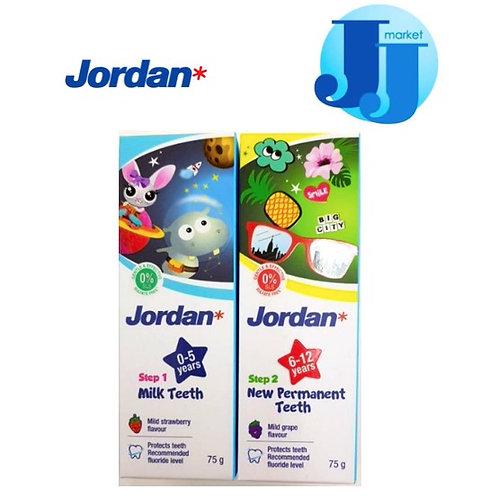 Jordan tooth paste grape flavour