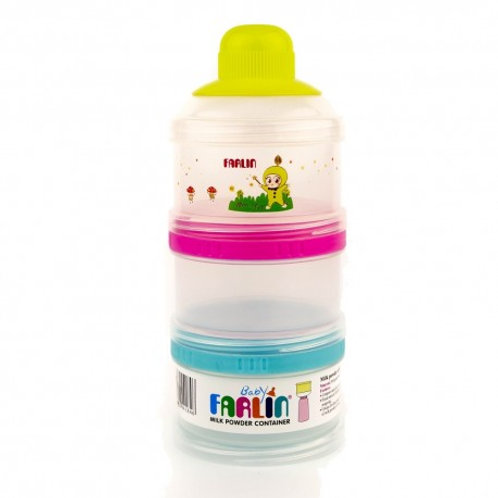Farlin three stage milk container