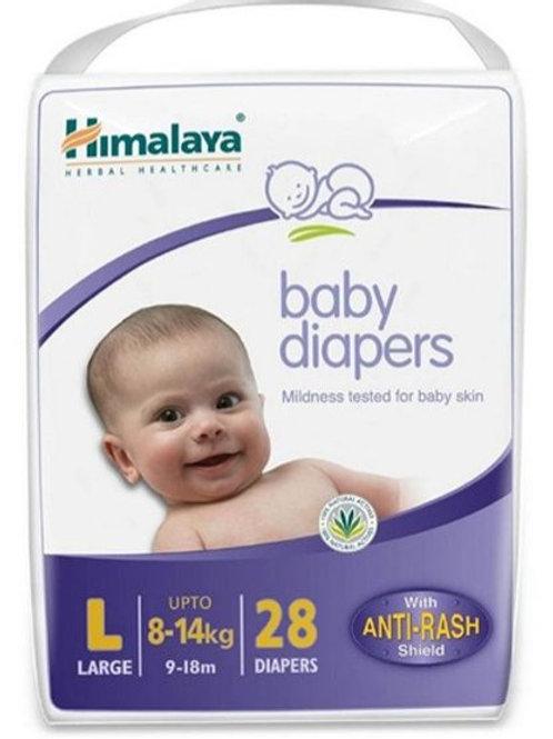 Himalaya Diapers large size 28 pcs