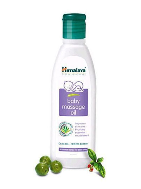 Himalaya Baby Massage oil (200ml)