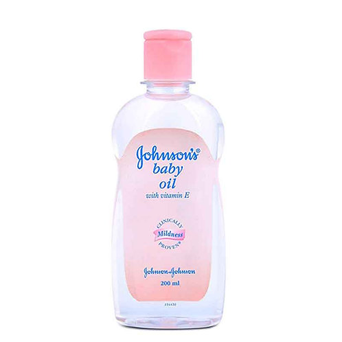 Jonshsons baby oil with vitamin E (200ml)