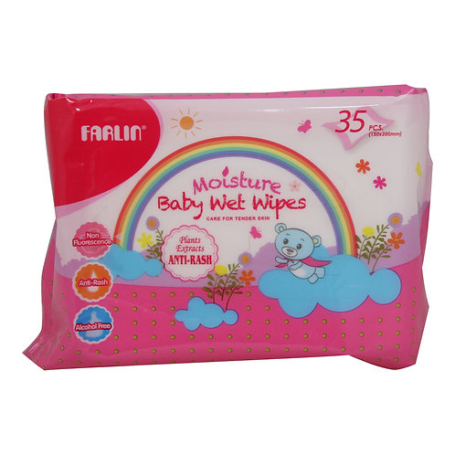 Farlin baby wipes 35 pcs