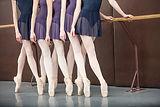 Ballet lektion