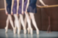 Ponta aulas de ballet avançado