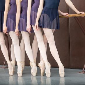 Prevenindo lesões esportivas: ballet