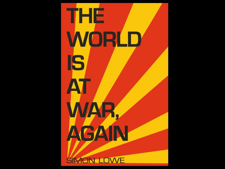 It's here! Cover reveal day - The World Is At War, Again