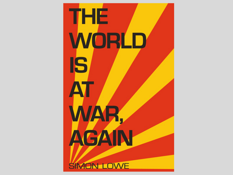 The World Is At War, Again ebook out today – plus blog tour details