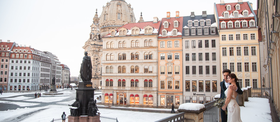Wedding Styled Shooting im Steigenberger Hotel de Saxe in Dresden