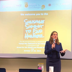 FIVE LESSONS LEARNED FROM THE 2019 SUNSHINE SUMMIT TO END HUNGER