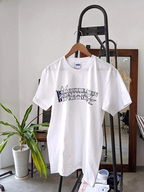 オリジナルTシャツ ホワイト×ネイビーロゴ