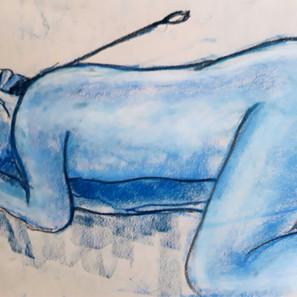 The Exhibitionist erotic portrait