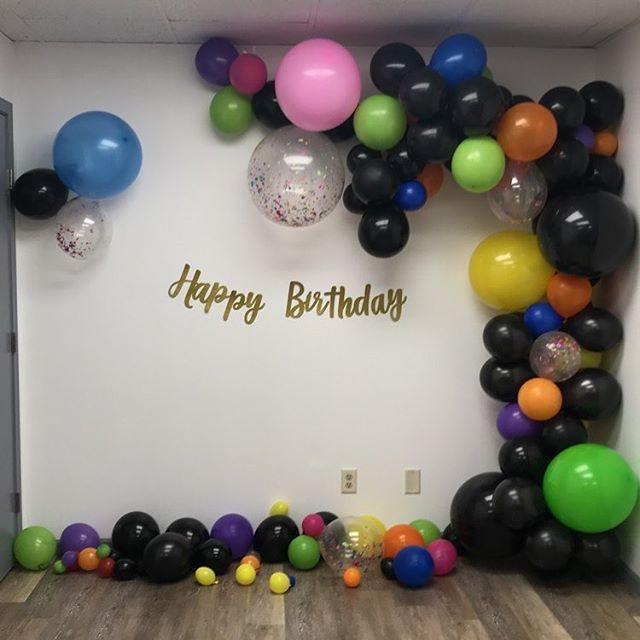 Let us decorate your next birthday with