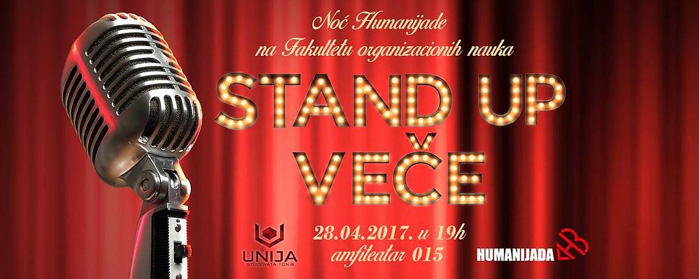 FON, humanijada, stand up veče, unija studenata FON, noć humanijade