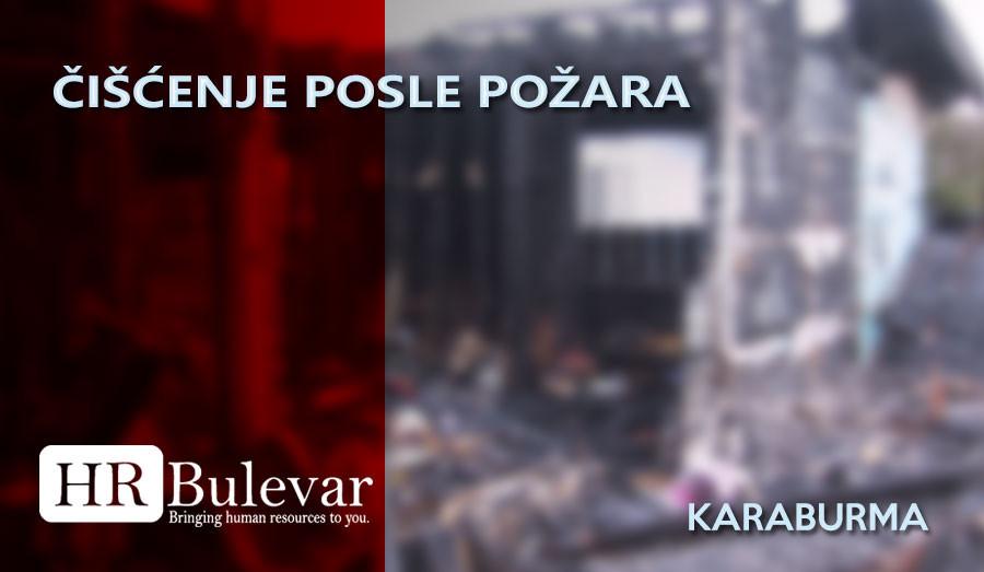 HR Bulevar, Poslovi Bulevar, Beograd, čistačica