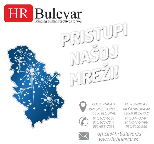 Beograd - Usluge HR agencije za privremeno zapošljavanje i ustupanje radnika, staff leasing u Beogradu