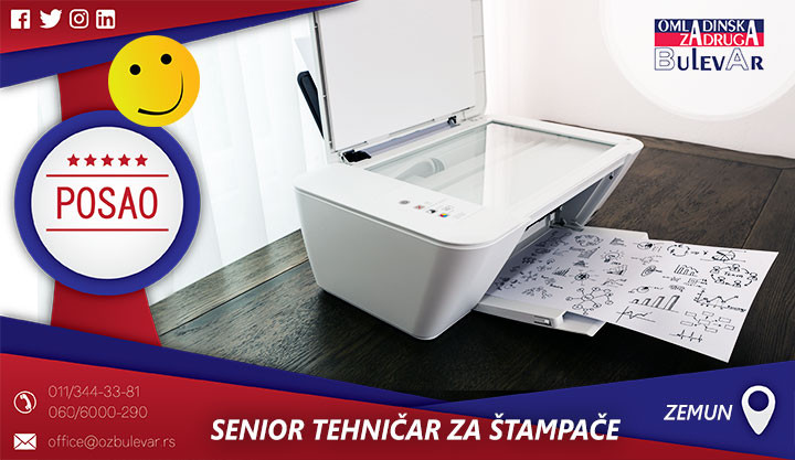 Poslovi preko omladinske zadruge, Omladinska zadruga, Studentska, zadruga Beograd, tehničar za štampače, štampa, štampači