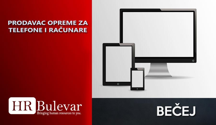 Prodavac, HR Bulevar, Poslovi, maloprodaja, trgovac, Srbobran