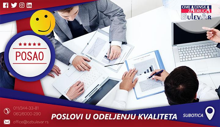 Beograd, Poslovi preko omladinske zadruge, Omladinska Zadruga, Omladinske zadruge, KVALITET
