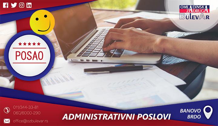 Beograd, Poslovi preko omladinske zadruge, Omladinska Zadruga, Omladinske zadruge, Administrativni poslovi