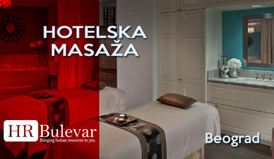 HR Bulevar, Poslovi Bulevar, Beograd, masaža